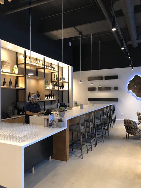 Battle Creek Cellars new tasting room in Portland's Pearl District.