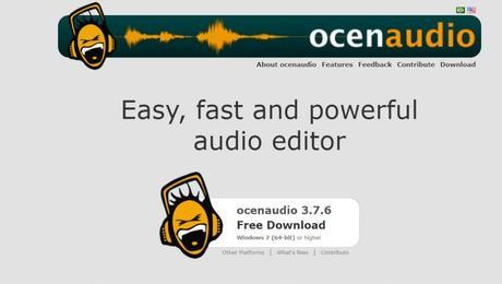 Best Audio Editing Software window & Mac