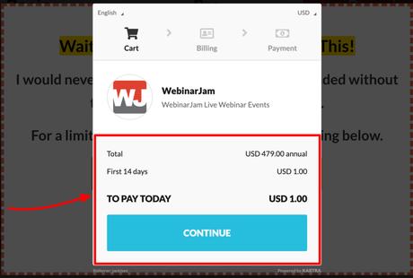 (Updated) WebinarJam Review 2019+Coupon Code (14 Days @$1)
