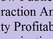 Public Interaction Publicity Profitable Organization