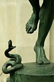 Striking the head of the serpent. A talk for remembrance Sunday