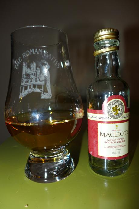 Tasting Notes:  Macleod's : Lowland Single Grain