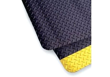 yellow floor runner carpet diamond top non slip solid black 3