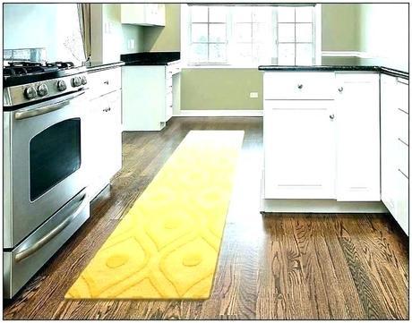 yellow floor runner carpet modern kitchen mats
