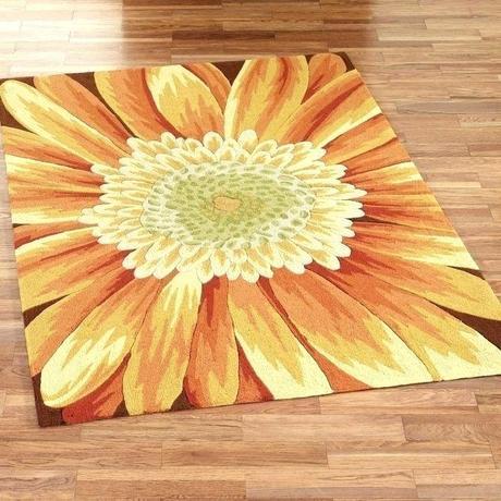 yellow floor runner brick road sunflower rug fancy area for your house decor living room