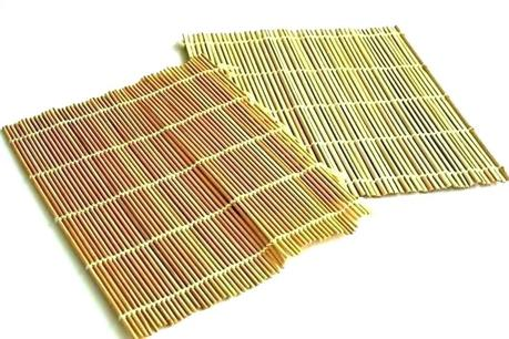 yellow floor runner brick road bamboo rug mat area kitchen bath