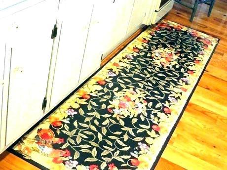yellow floor runner brick road kitchen runners rugs