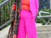 Pink Wide Pantsuit with Career