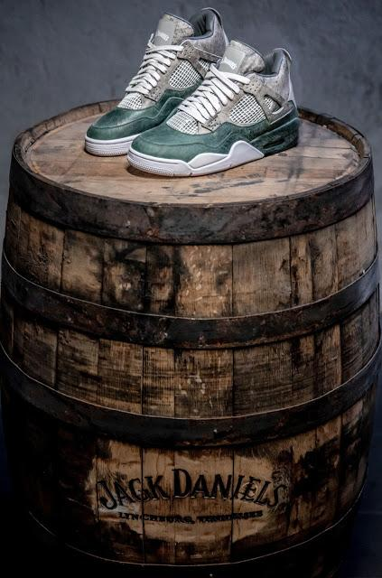 Shoe of the Day | Jack Daniel's X The Shoe Surgeon Sneakers