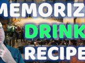 Memorize Cocktail Recipes Triple Imprint Method