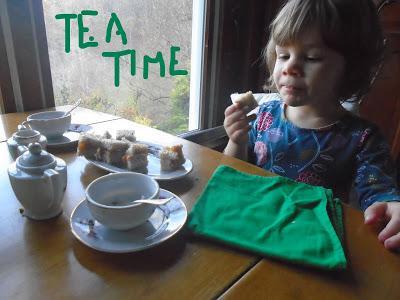 Josie Takes Tea