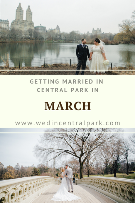 Getting Married in Central Park in March