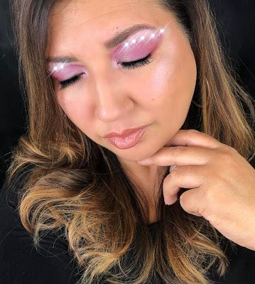 Makeup Look using Rhinestones