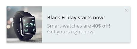 Black Friday Push Notifications Best Practices (Get 220% ROI) 2019