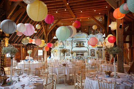 barn wedding photos at preston court