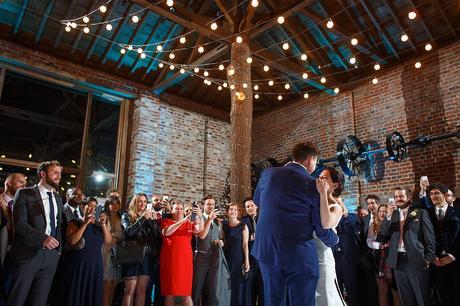 first dance at a gaynes park wedding