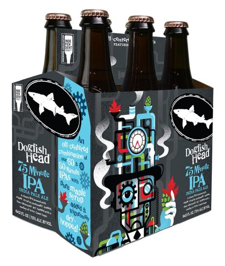 Dogfish Head 75 Minute IPA. Could This Be The Goldilocks of Continually Hopped IPAs?