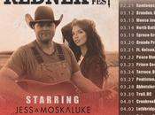 Gord Bamford Announces #REDNEK Music Fest Tour with Jess Moskaluke Friends