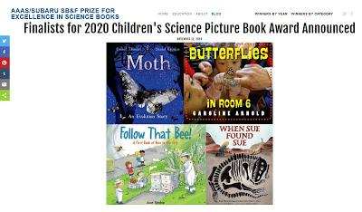 AAAS/SUBARU Children's Science Picture Book Award--Short List