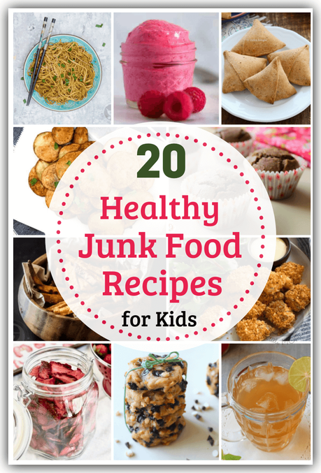 Healthy Junk Food - is it even possible? Yes, and we'll show you how with a collection of healthy junk food recipes for kids, including their favorites!