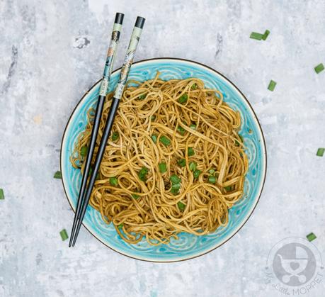 garlic soya noodles