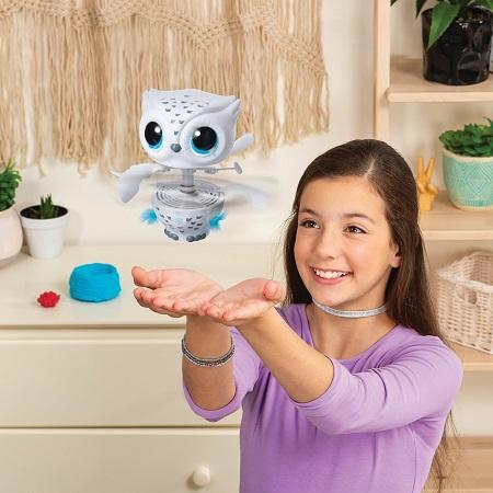 Owleez, The First Ever Interactive Toy Pet That Kids Can Teach How to Fly