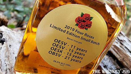 2019 Four Roses Small Batch Label