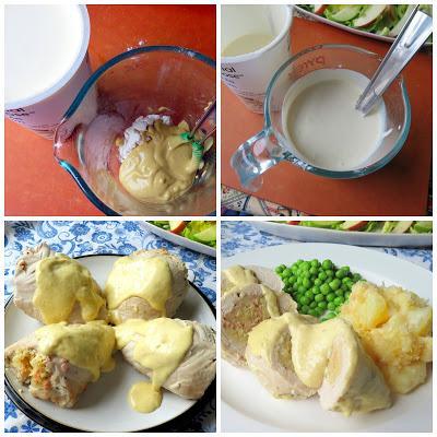 Cordon Bleu Stuffed Turkey Tenderloins