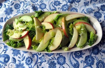 Citrus Dressed Apple Salad