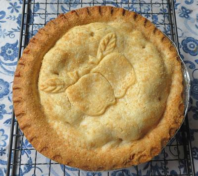Frozen Apple Pie Baked