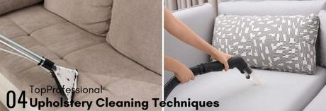 Top Four Professional Upholstery Cleaning Techniques