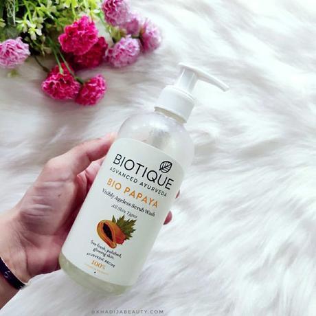 Biotique Bio Papaya scrub wash
