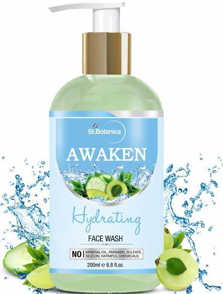 st.botanica face wash for dry skin