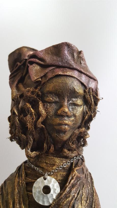She Knew - Mixed Media Art - Amanda Trought
