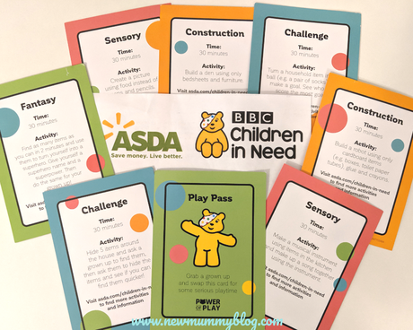 Children in Need 2019 – Asda Power of Play playing cards | #powerofplay