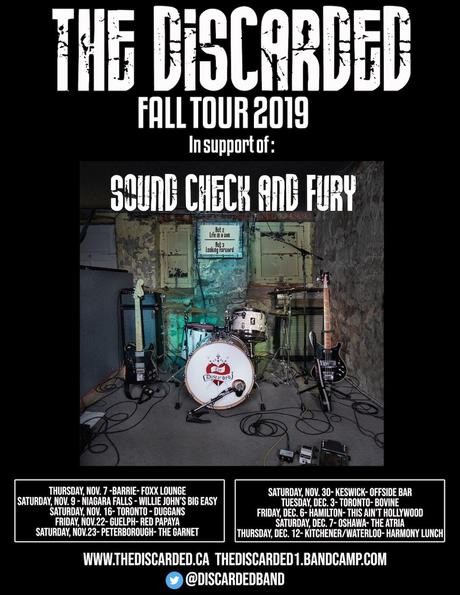 The Discarded – Sound Check and Fury [Interview + 5 Quick Questions]