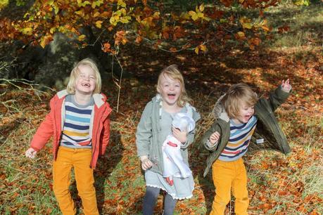 Siblings In Autumn 2019