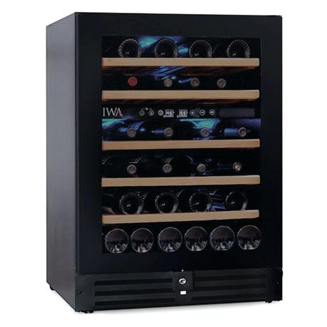 short wine fridge wide loft refrigerator bottle dual zone new