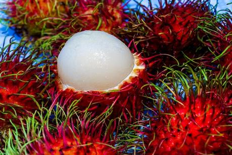 Rambutan-fruit