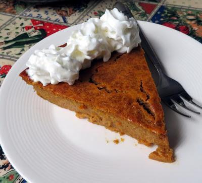 Impossible Pumpkin Pie
