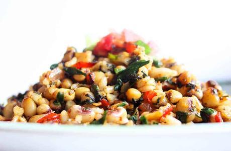 Vegetarian Black Eyed Peas Recipe – Hoppin' John