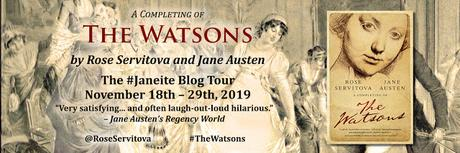 THE WATSONS BLOG TOUR LAUNCH!  INTERVIEW WITH AUTHOR ROSE SERVITOVA
