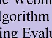 Google Webmaster Algorithm Working Evaluation Indexing