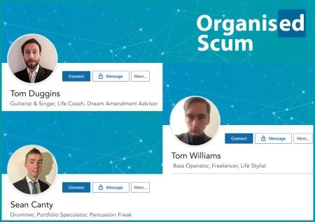 Organised Scum: One Less Bastard EP
