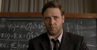 Russell Crowe in a Beautiful Mind