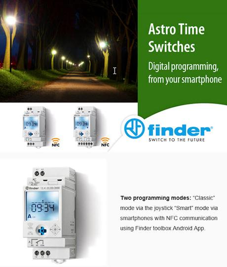 Finder Astro Time Switches