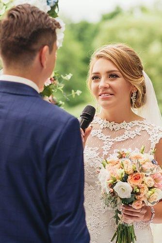 modern wedding vows bride tell her vows
