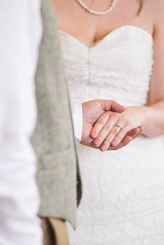 modern wedding vows bride and groom wedding ceremony