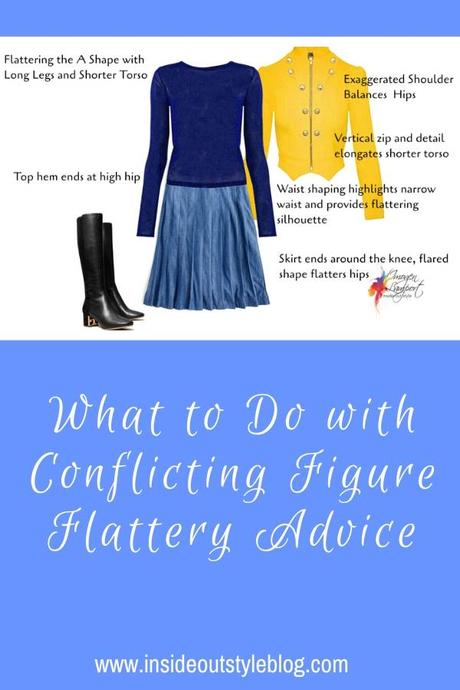 What to Do with Conflicting Figure Flattery Advice