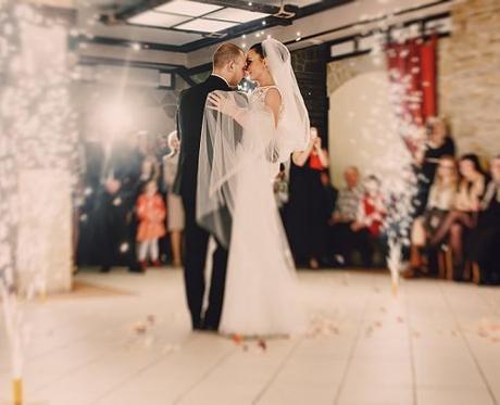 upbeat wedding songs bride and groom dancing